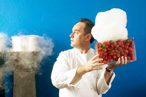 strawberry foam